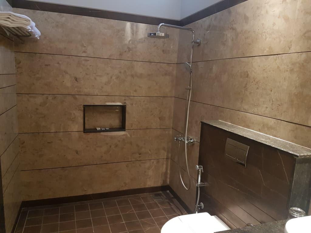 Bathroom in a Luxury Suite Hotel in Kasauli Regency