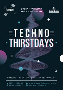 Poster of Techno Music Party