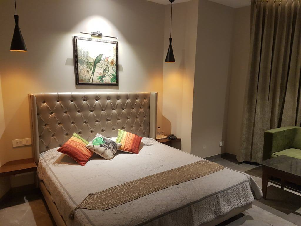 Value for Money Super Deluxe Room - good for a family or a couple.