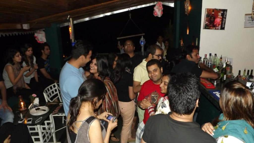 Evening at Hangout with Music Hotels in Kasauli