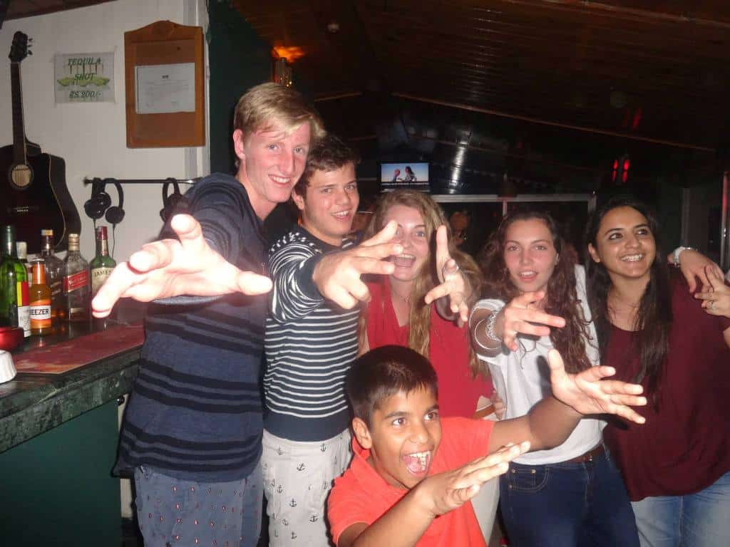 South African School Kids at Hangout in kasauli