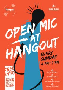 Poster of Kasauli Open Mic every Sunday 4-7 PM